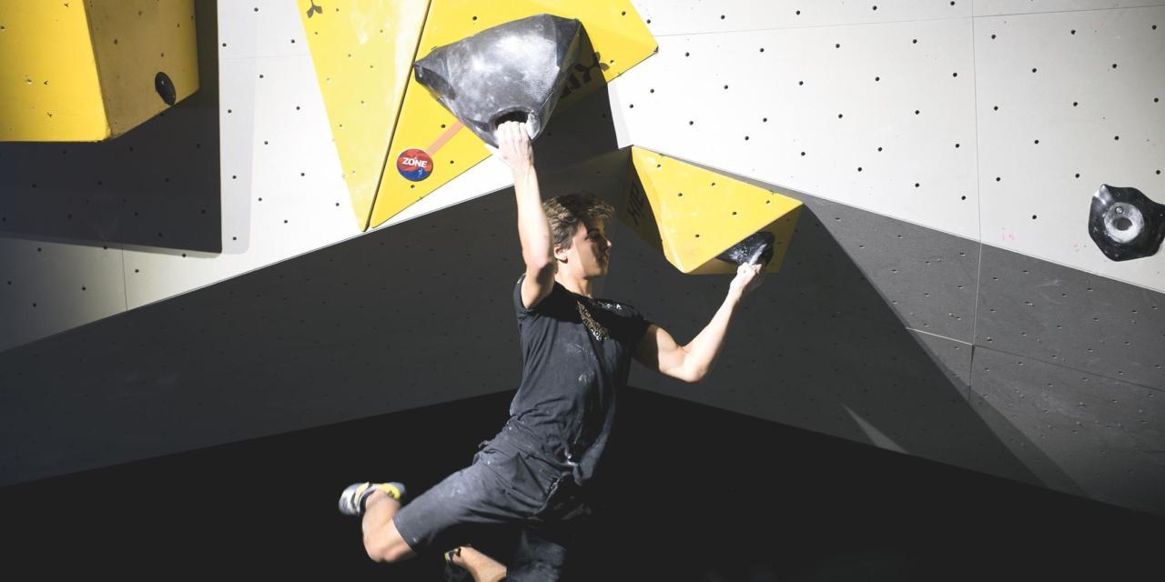 Championnat de France jeunes d'escalade de bloc