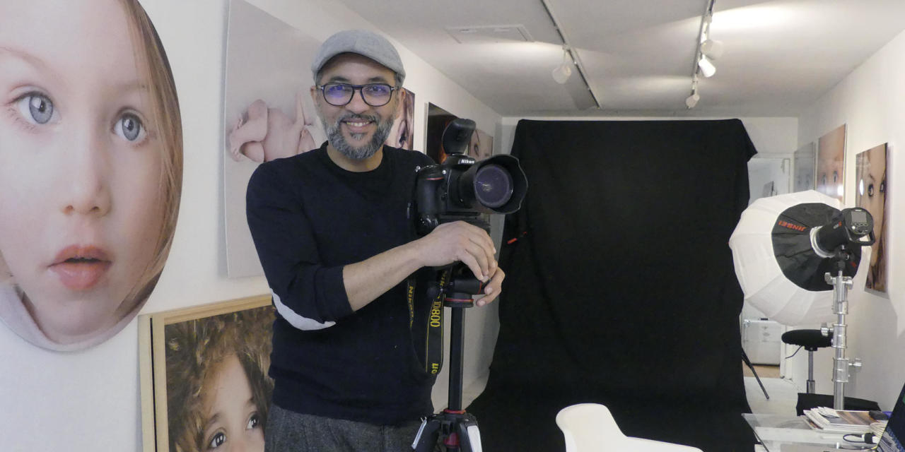Saïd Ouama, un studio photo au coeur de Mâcon