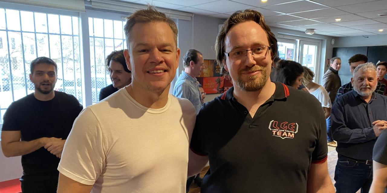 Matt Damon de passage à Mâcon