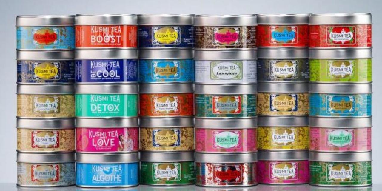 Des produits Kusmi Tea à la Brûlerie Mâconnaise