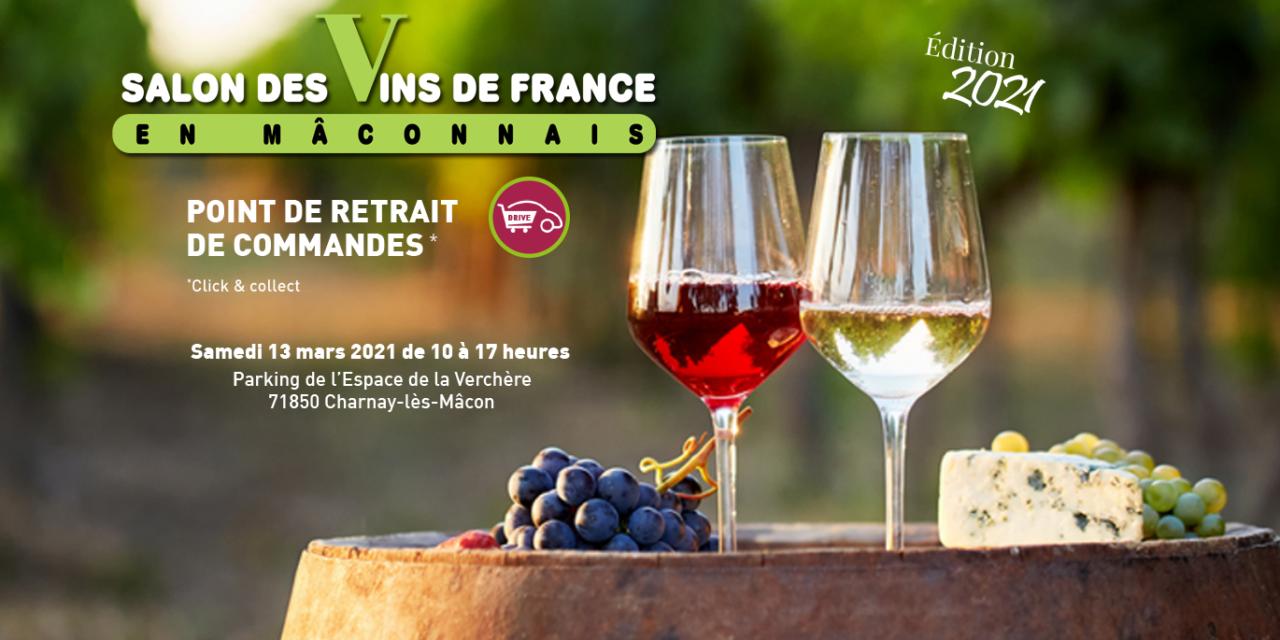 Un click & collect remplace le Salon des Vins de France