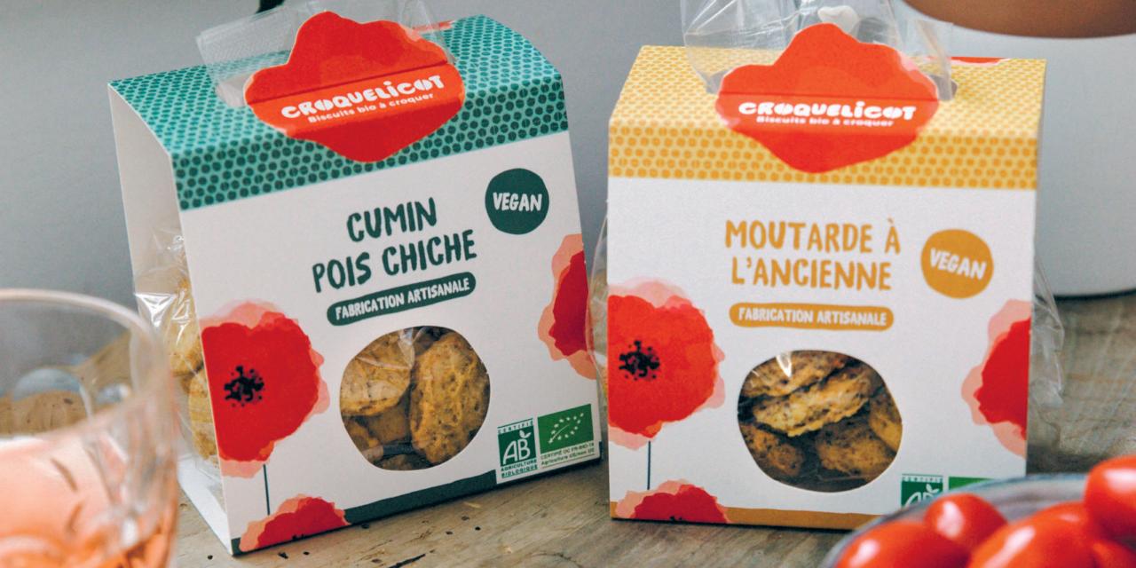 Le retour au naturel avec les biscuits Croquelicot